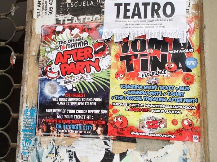 スペインのトマト祭り(ラ・トマティーナ)参加 (1)
