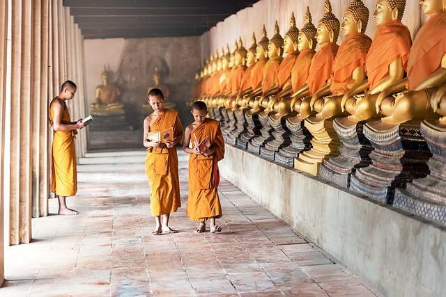 タイの仏教徒