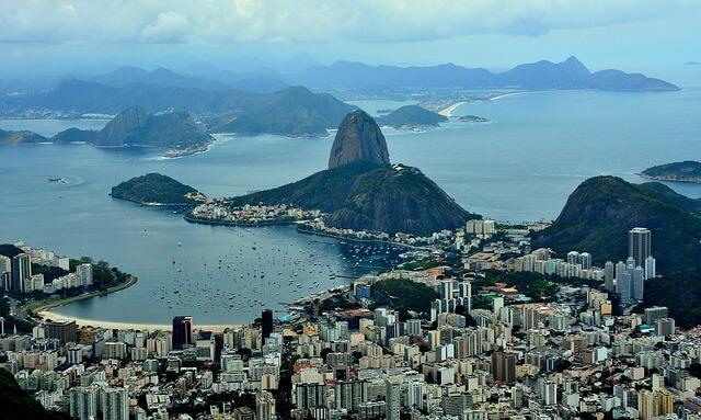 ブラジルのリオデジャネイロ