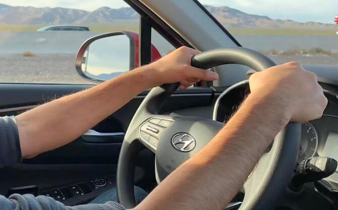 アメリカでレンタカーを運転2
