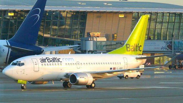 エアバルティックの機体