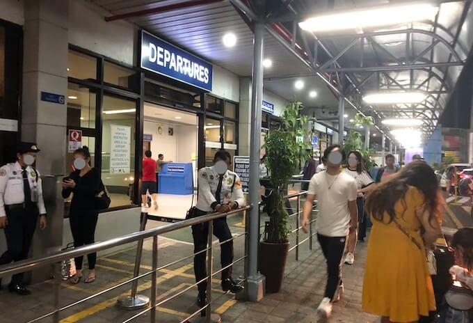 フィリピンのマニラ空港ターミナル4