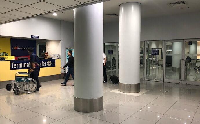 マニラ空港ターミナル3のバスターミナル