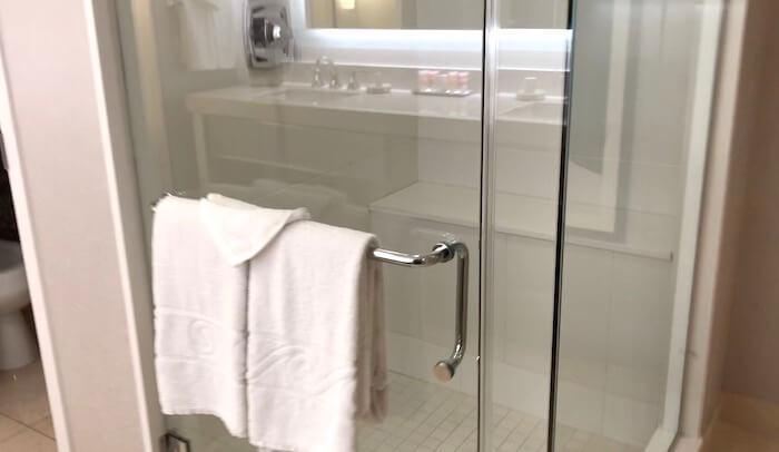 シャワールーム(プラネット・ハリウッド)