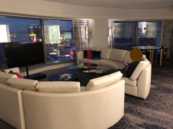 プラネットハリウッドのスイートルーム