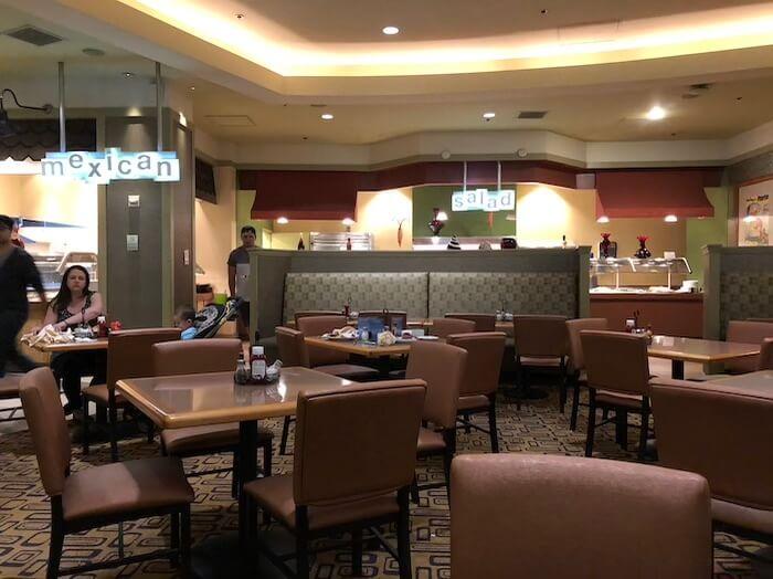 プラネットハリウッドレストラン(ビュッフェ・スパイス)2