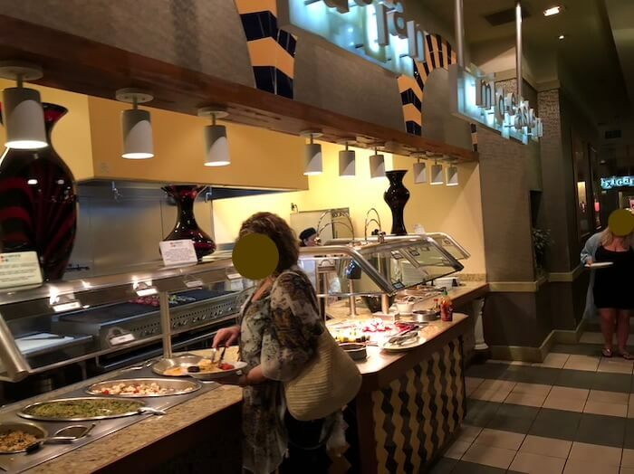プラネットハリウッドレストラン(ビュッフェ・スパイス)6