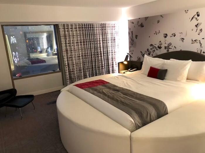 プラネット・ハリウッドホテルのスイートルーム、寝室