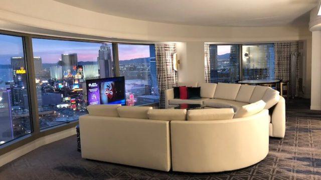 プラネット・ハリウッドホテルのスイートルーム