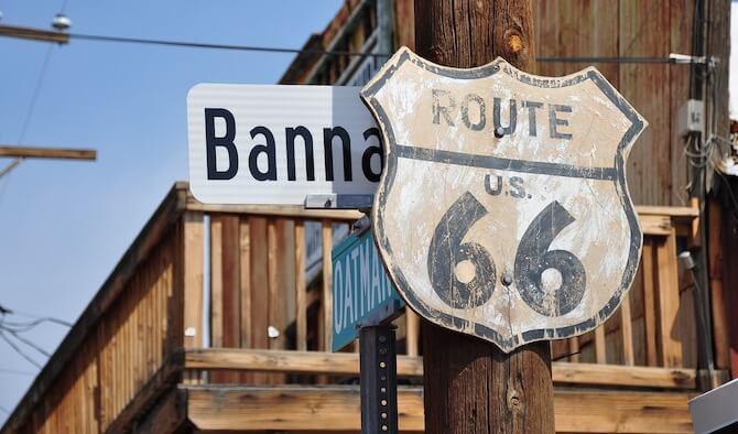 ルート66の標識
