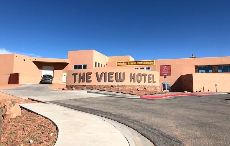 The View Hotel(ザビューホテル)の外見