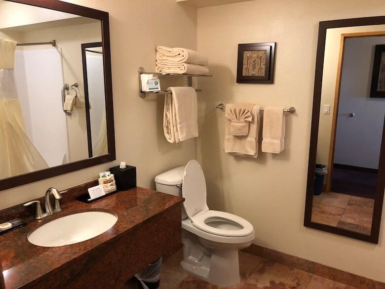 The View Hotel(ザビューホテル)バスルーム