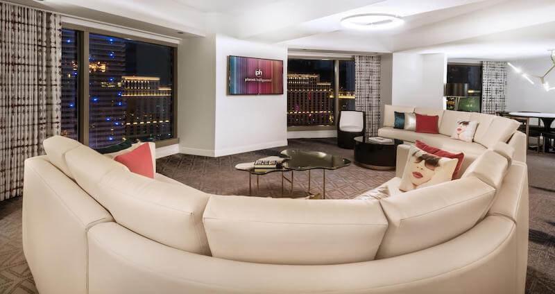 プラネット ハリウッドのスイートルーム