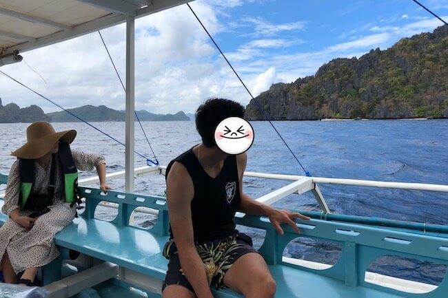 アウトリガー船に乗ってミニロック島へ