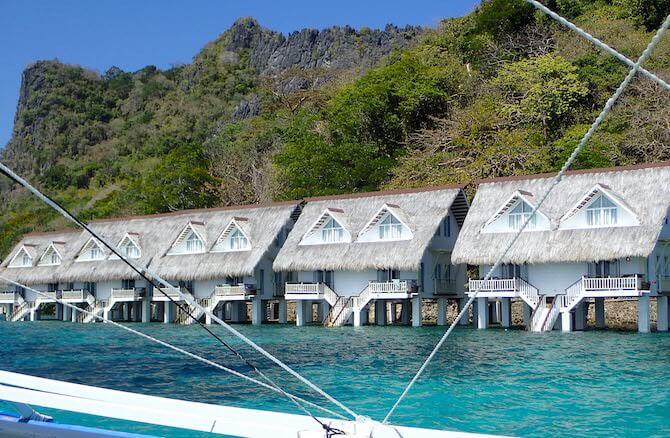 アプリット島の水上コテージ部屋10