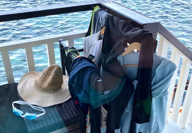 アプリット島の水上コテージ部屋8